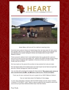 thumbnail of Flood Relief July newsletter
