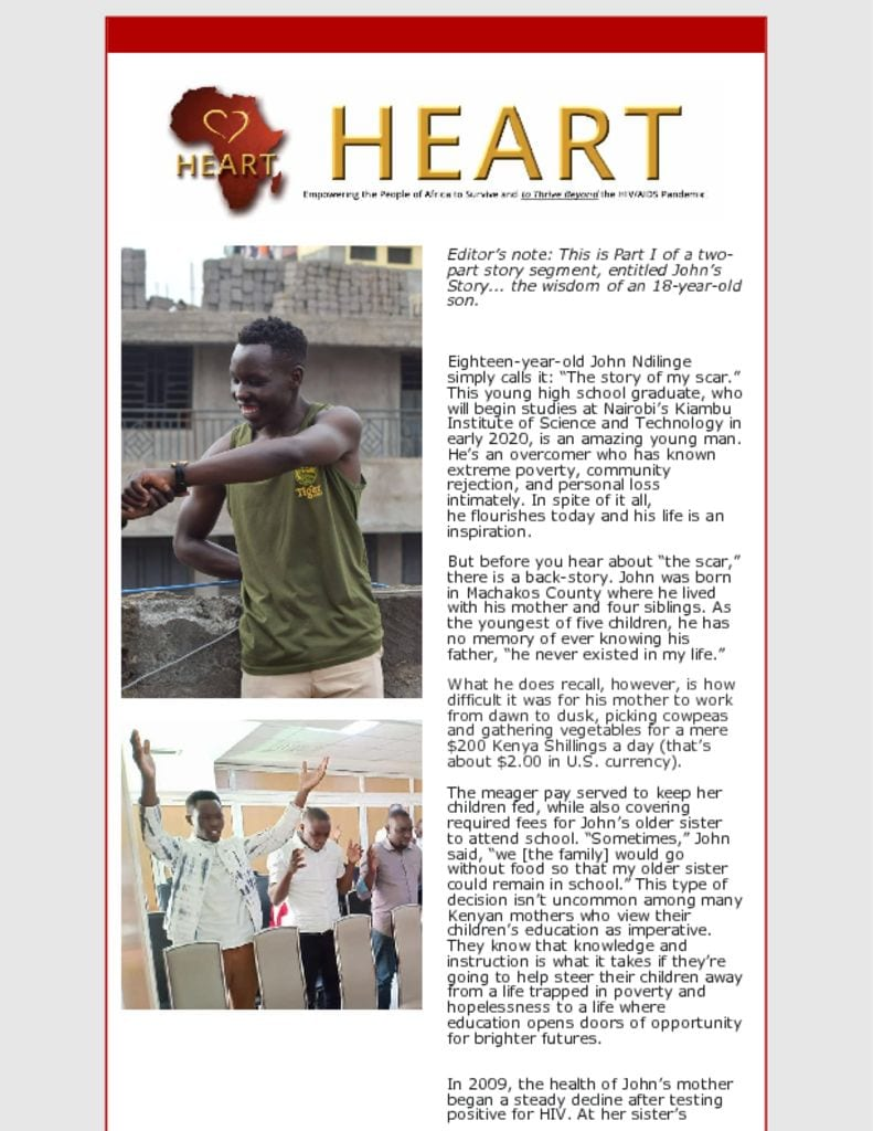 thumbnail of John Ndilinge a Flourishing Young Man Part I