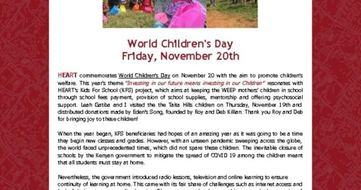 thumbnail of 2020 World Children's Day